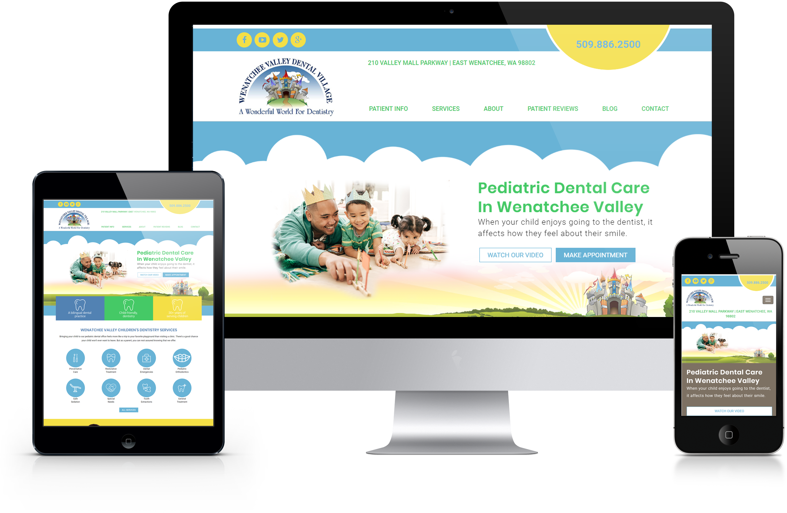 Wenatchee Dental Website