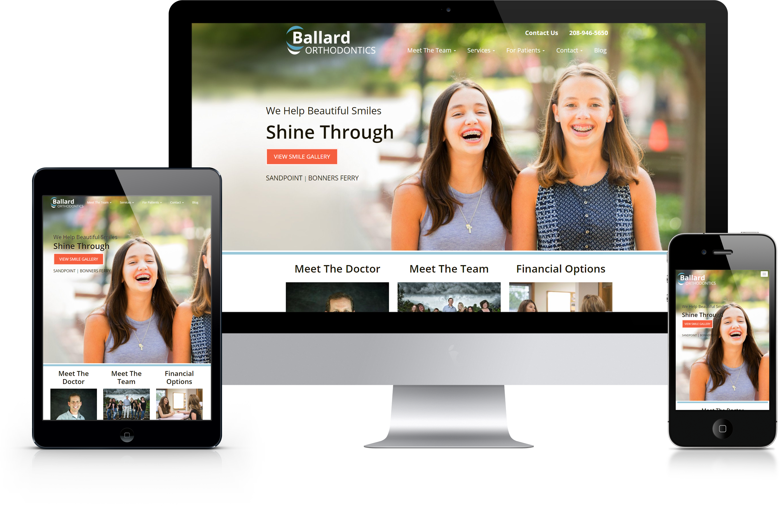 Ballard Ortho Website