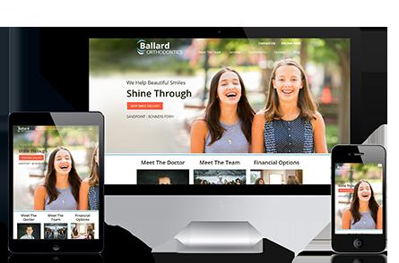 Ballard Orthodontist Marketing Portfolio