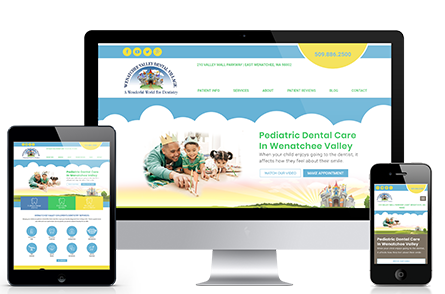 Wenatchee Kids Dental Marketing Portfolio